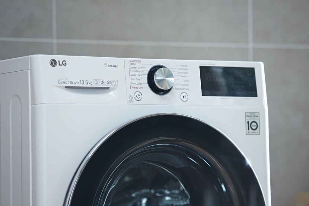 LG Steam™ ev akarlarını ve bakterileri yok ediyor