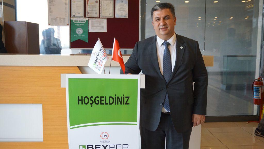 Beyper Başkanı Ali Yıldız